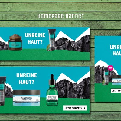 Portfolio - Body Shop - Affolter Design - Neunkirch
